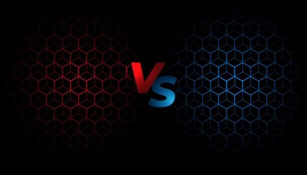 battle screen versus vs background template design