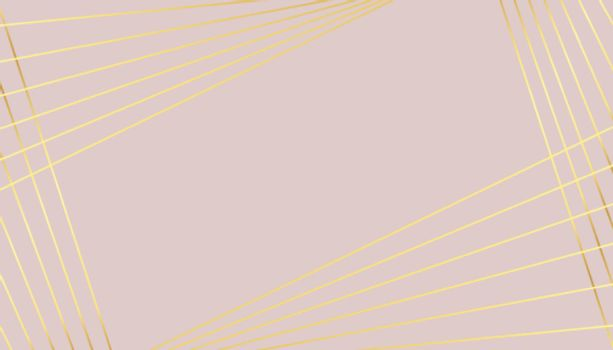 pastel color background with golden lines design
