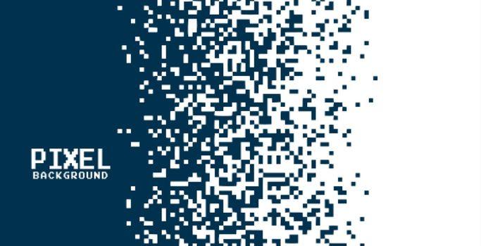 modern pixel background in gradient effect style