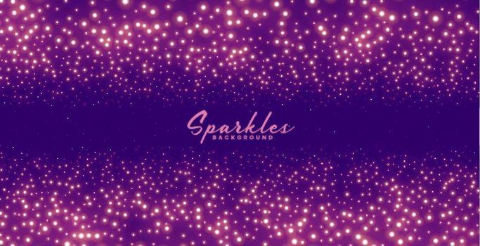 purple sparkles background for festival celebration theme
