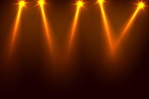 music party focus spotlight background design