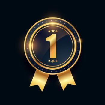1st winner golden medal number one achievement