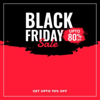abstract black friday sale and discount background
