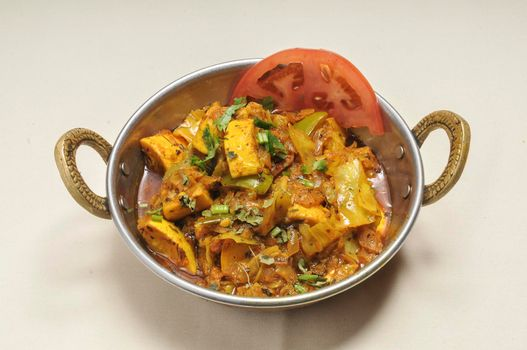 Delicious Indian cuisine known as Vegetable Jalfrezi