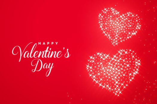 valentines day red romantic sparkle heart background