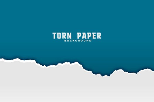 torn ripped paper background in two colors