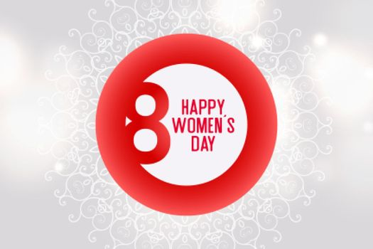 international womens day celebration background design template