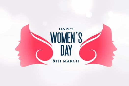 creative happy womens day attractive layout design