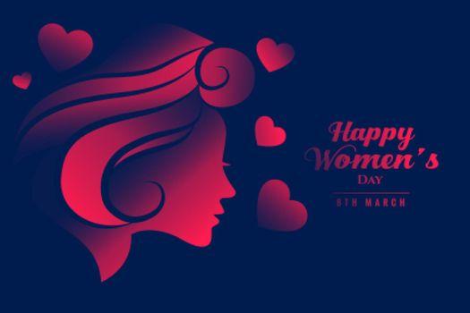 international happy womens day beautiful banner design