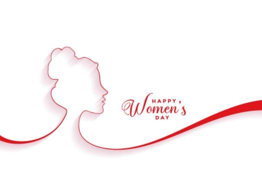 creative happy womens day event banner design
