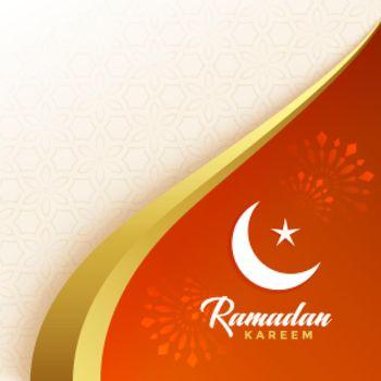 greeting design for ramadan kareem festival season