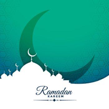 festival card design for ramadan kareem season