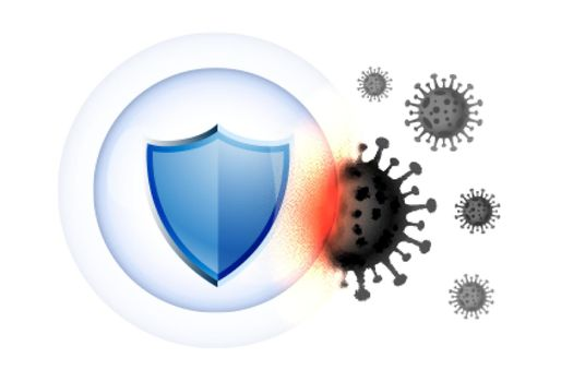 healthcare medical shield guard protecting from virus