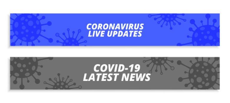 coronavirus wide banner for latest news and updates
