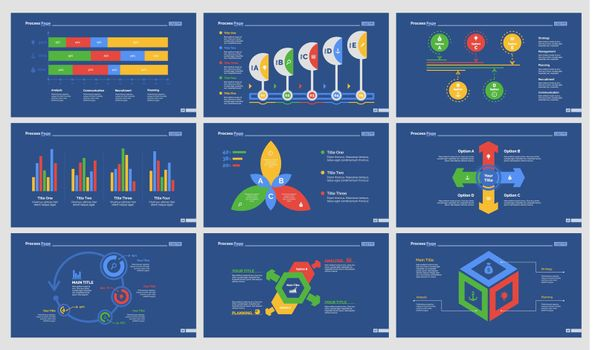 Nine Consulting Slide Templates Set