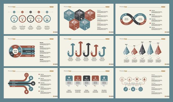 Six Accounting Slide Templates Set