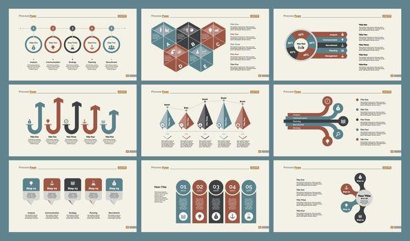 Six Infographic Slide Templates Set