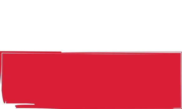 Grunge POLAND flag or banner