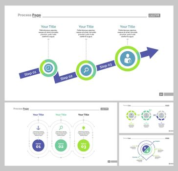 Four Strategy Slide Templates Set
