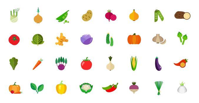 Harvest icon set