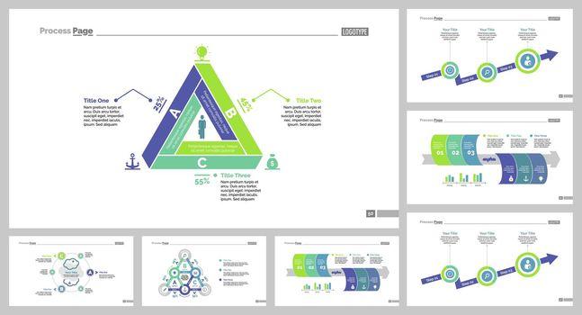 Seven Management Slide Templates Set
