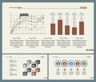 Three Analyzing Slide Templates Set