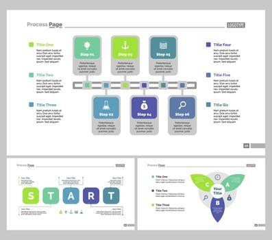 Three Planning Slide Templates Set