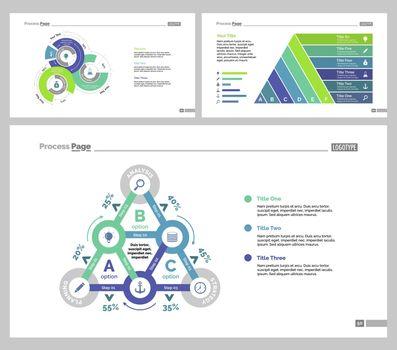 Three Statistics Slide Templates Set