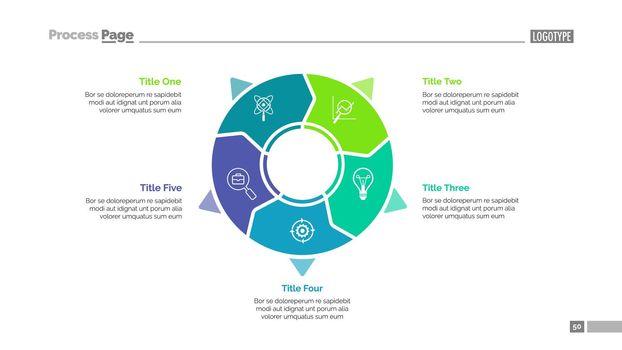 Business diagram slide template