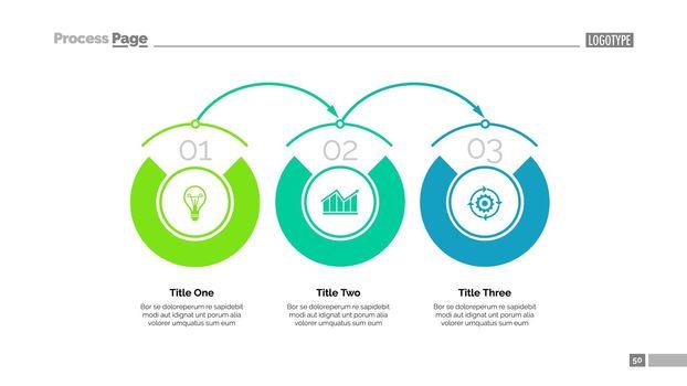 Business timeline slide template