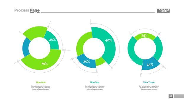 Circle diagrams slide template