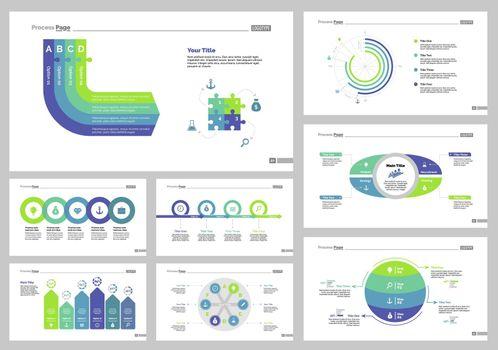 Eight Economics Slide Templates Set