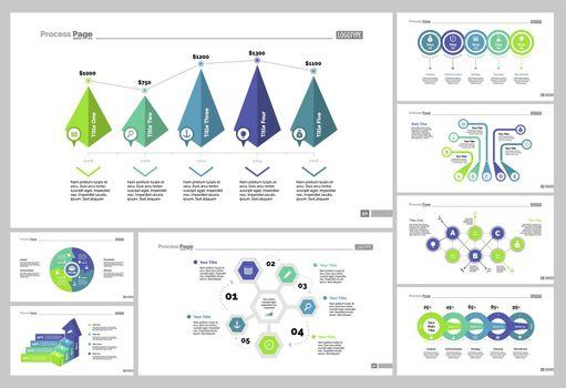 Eight Marketing Slide Templates Set