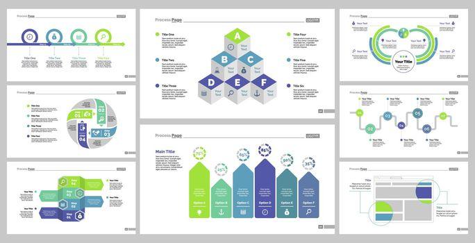 Eight Planning Slide Templates Set