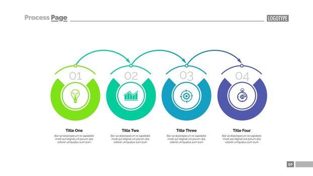 Process chart slide template