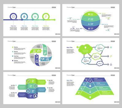 Six Teamwork Slide Templates Set