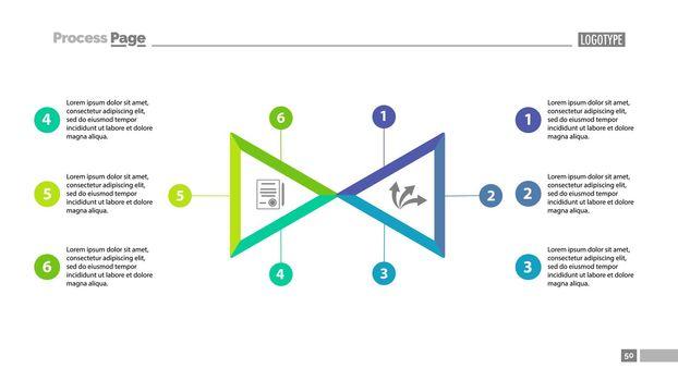 Two triangle segment option chart