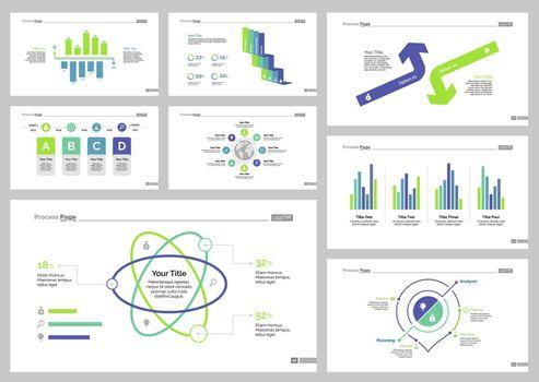 Eight Logistics Slide Templates Set