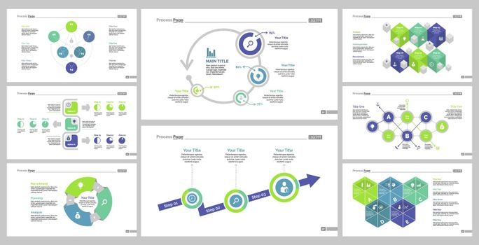 Eight Teamwork Slide Templates Set