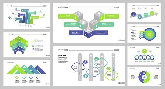 Nine Finance Slide Templates Set