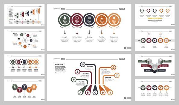 Ten Management Slide Templates Set