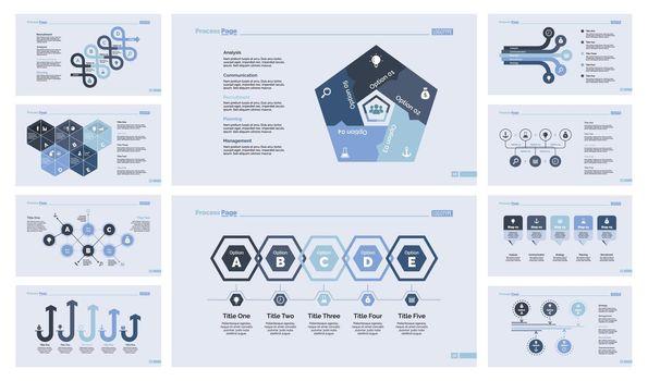 Ten Teamwork Slide Templates Set