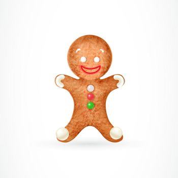 Funny gingerbread man