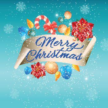 Beautiful Christmas inscription