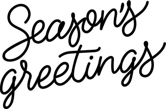 Seasons Greetings Inscription