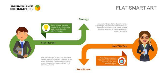 Arrow Infographics Slide Template