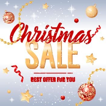 Christmas Sale Offer for You Inscription
