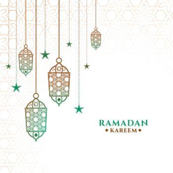 decorative ramadan kareem background design