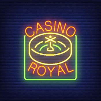 Casino royal neon sign