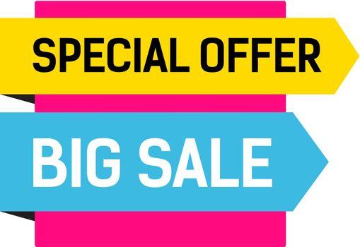Big Sale Multicolored Poster
